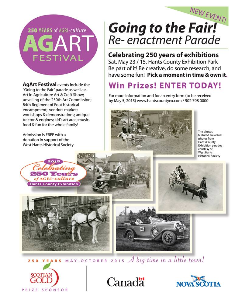 AgArt Festival @ Hants County Exhibition Park | Windsor | Nova Scotia | Canada