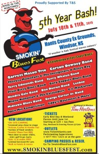 Smokin' Blues Fest @ Hants County Exhibition Park | Windsor | Nova Scotia | Canada