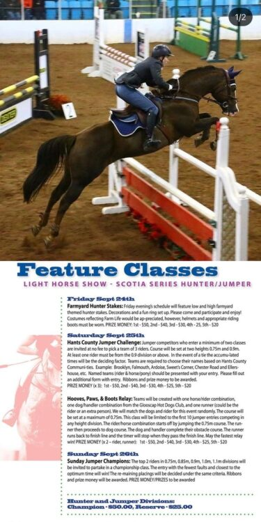 Light Horse Challenge Weekend 2 Sept 24th 25th & 26th