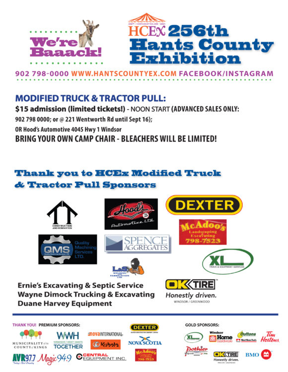 Modified Truck & Tractor Weekend 1 Sept 18th